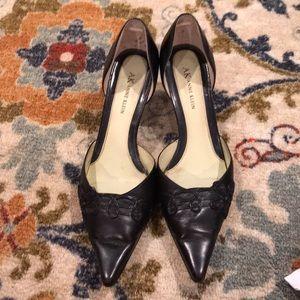 Anne Klein low heels.